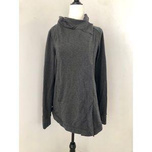 Lululemon Coast Wrap Charcoal Grey Size 8